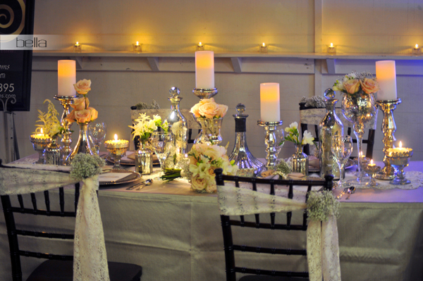 wedding head table - wedding reception - 2133