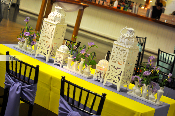 wedding head table - wedding reception - 2135