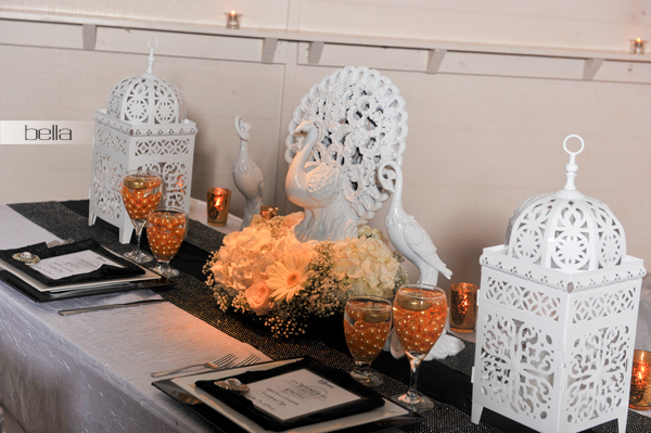 wedding head table - wedding reception - 2139