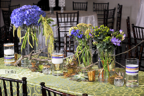 wedding head table - wedding reception - 2141