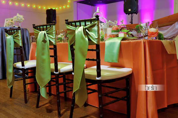 wedding head table - wedding reception - 2144