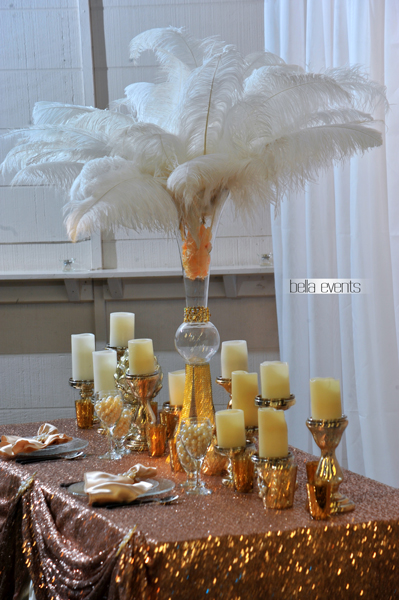 wedding head table - wedding reception - 2150