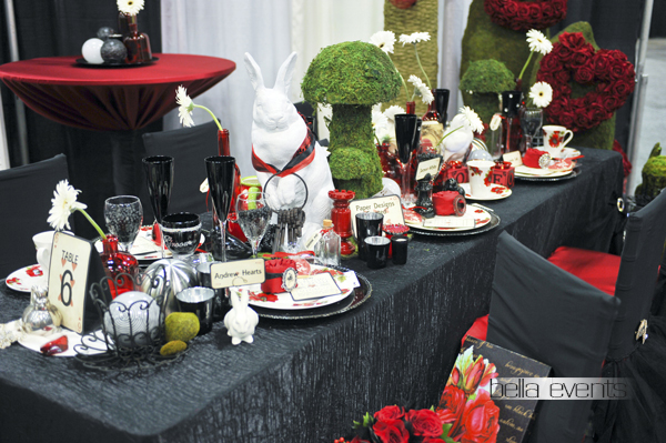 wedding head table - wedding reception - 2154