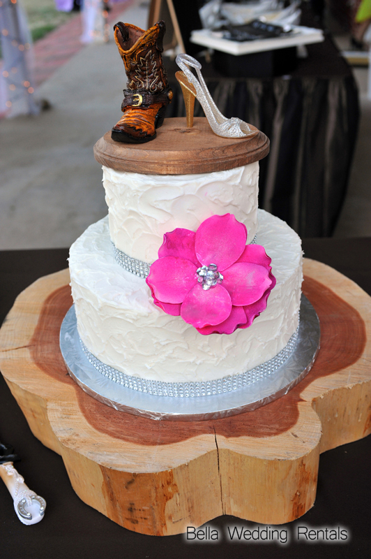 Wood Slice for Wedding Cake