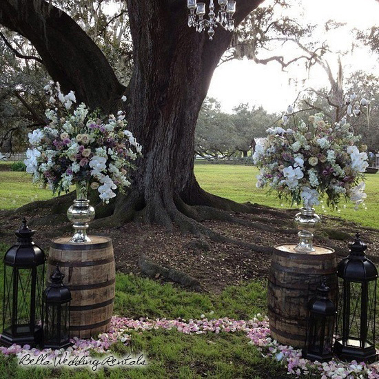 Wedding Altar Flowers Price: Non-Traditional Wedding Altar Or Arch Rental & Installation