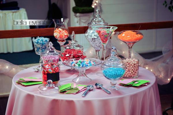 Candy Bar Candy Station Wedding Reception Candy Bar