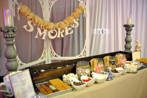 Smores Station Smores Bar Wedding Smores Bar Wedding