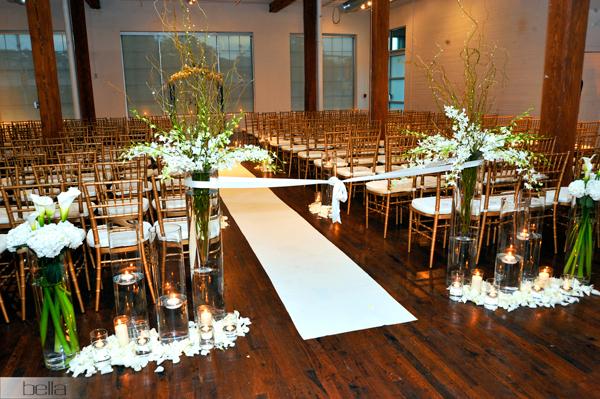 Three Three Three Wedding Ceremony & Reception Design